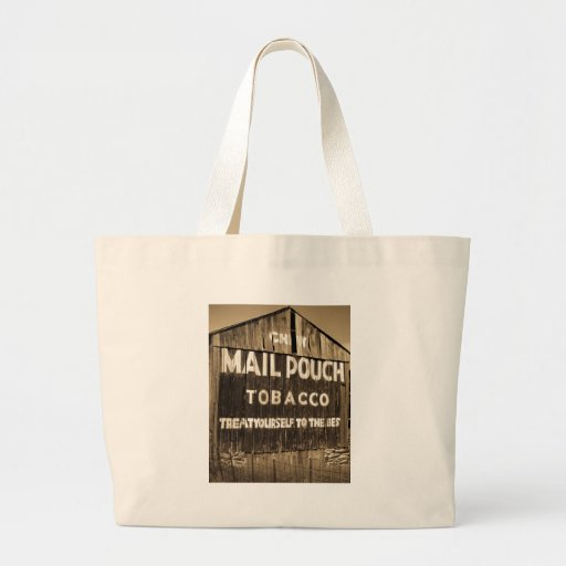 Chew Mail Pouch Tobacco Barn Canvas Bag