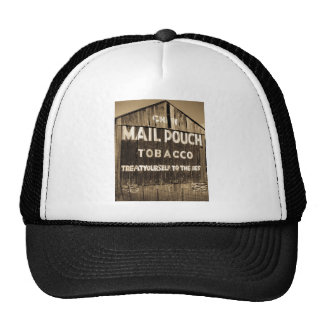 Chew Mail Pouch Tobacco Barn Mesh Hats