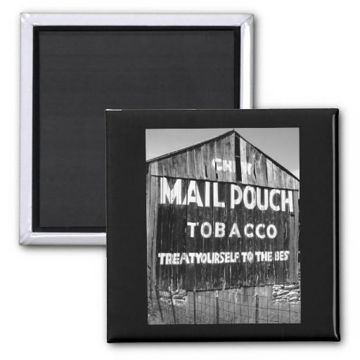 Chew Mail Pouch Tobacco Barn Refrigerator Magnets