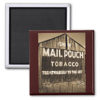 Chew Mail Pouch Tobacco Barn Refrigerator Magnet