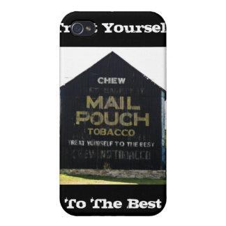 Chew Mail Pouch Tobacco Barn - Original Photo iPhone 4 Cover
