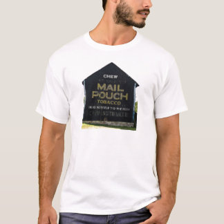 Chew Mail Pouch Tobacco Barn - Original Photo T-Shirt