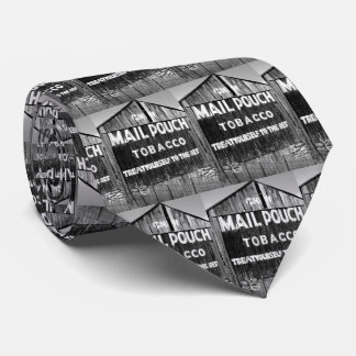 Chew Mail Pouch Tobacco Barn Original Photo Tie