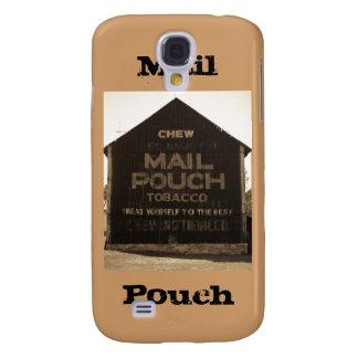 Chew Mail Pouch Tobacco Barn - Sepia Finish Galaxy S4 Case