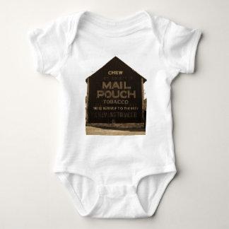 Chew Mail Pouch Tobacco Barn - Sepia Finish Shirt