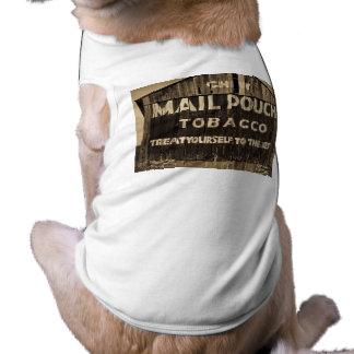 Chew Mail Pouch Tobacco Barn Sleeveless Dog Shirt