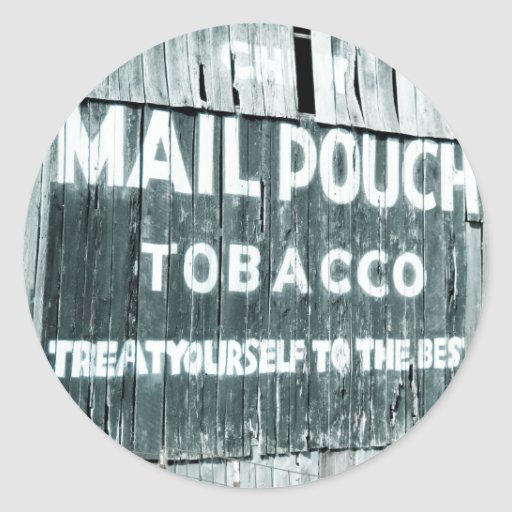 Chew Mail Pouch Tobacco Barn Stickers