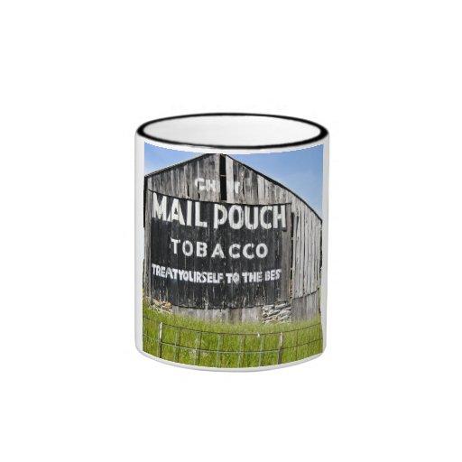 Chew Mail Pouch Tobacco, Old Barn Coffee Mug