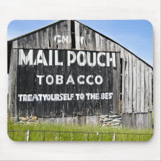 Chew Mail Pouch Tobacco Rustic Barn Mouse Pad