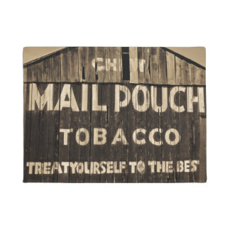 Chew Mail Pouch Tobacco Treat Yourself Barn Doormat