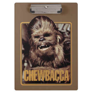Chewbacca Badge Clipboards