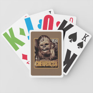 Chewbacca Badge Deck Of Cards