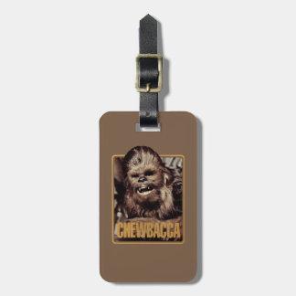 Chewbacca Badge Luggage Tag