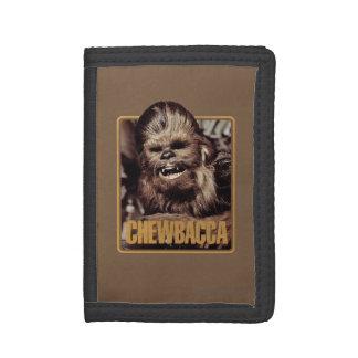 Chewbacca Badge Tri-fold Wallets