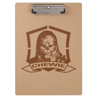 Chewbacca Brown Clipboards