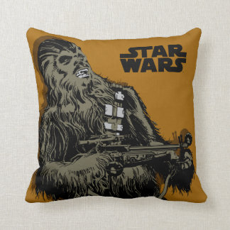 Chewbacca Brown Graphic Cushions
