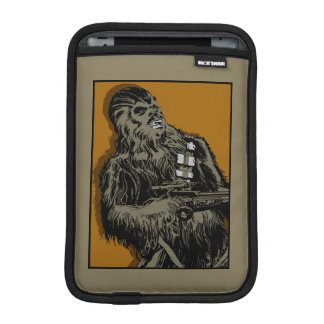 Chewbacca Brown Graphic iPad Mini Sleeves