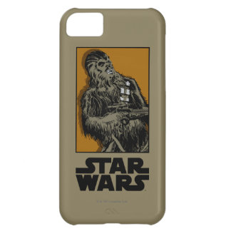 Chewbacca Brown Graphic iPhone 5C Case