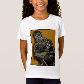 Chewbacca Brown Graphic T Shirt