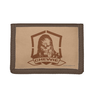 Chewbacca Brown Trifold Wallet