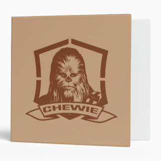 Chewbacca Brown Vinyl Binder