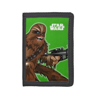 Chewbacca Character Art Tri-fold Wallet