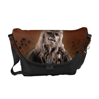 Chewbacca Graphic Courier Bag