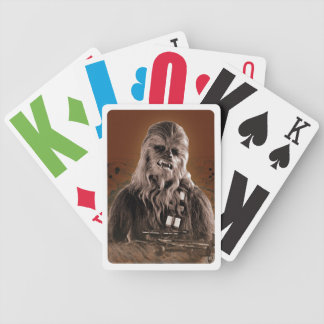 Chewbacca Graphic Playing Cards