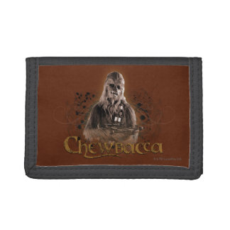 Chewbacca Graphic Tri-fold Wallets