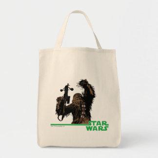 Chewbacca Grocery Tote Bag