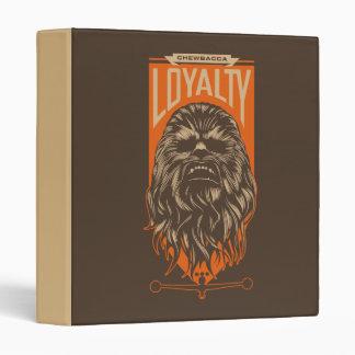 Chewbacca Loyalty 3 Ring Binders