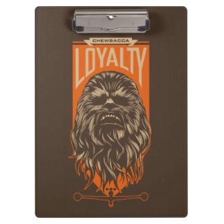 Chewbacca Loyalty Clipboards