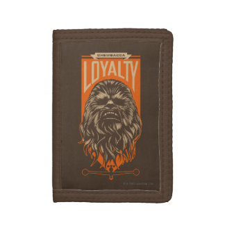 Chewbacca Loyalty Trifold Wallet