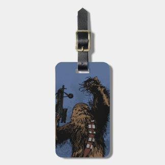 Chewbacca Luggage Tag