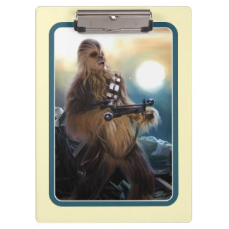 Chewbacca Photo Clipboard