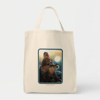 Chewbacca Photo Grocery Tote Bag