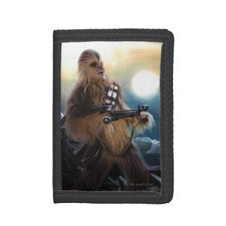 Chewbacca Photo Tri-fold Wallets