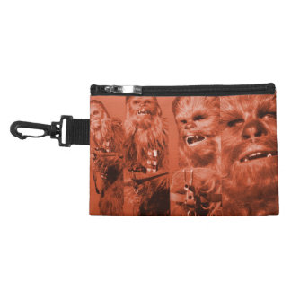 Chewbacca Photograph Collage Accessory Bag