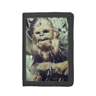 Chewbacca Photograph Tri-fold Wallets