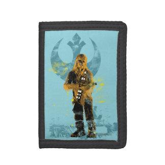 Chewbacca Retro Trifold Wallet
