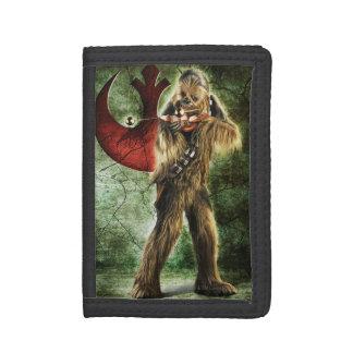 Chewbacca Standing Tri-fold Wallets