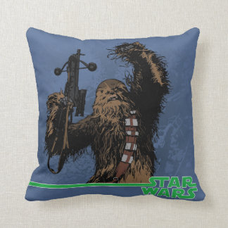 Chewbacca Throw Cushions