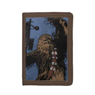 Chewbacca Tri-fold Wallets