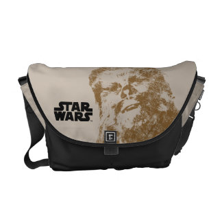 Chewbacca Vintage Courier Bags