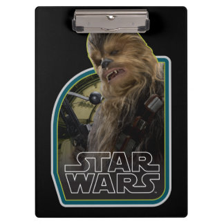 Chewbacca Vintage Graphic Clipboard