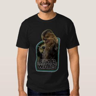 Chewbacca Vintage Graphic Tee Shirt