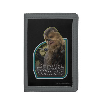 Chewbacca Vintage Graphic Tri-fold Wallets