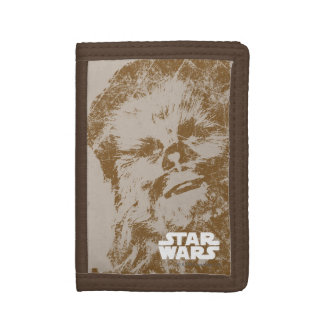 Chewbacca Vintage Trifold Wallet
