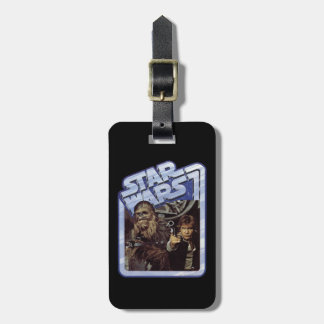 Chewie and Han Bag Tag