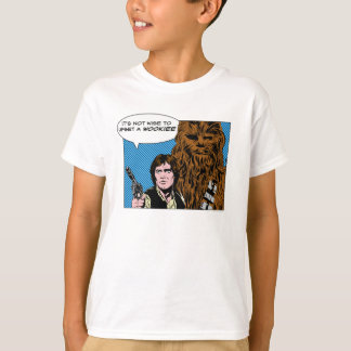 Chewie and Han Comic T-Shirt